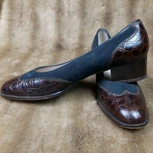Salvatore Ferragamo leather shoes elegant